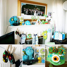 inc baby shower decorations monsters inc baby shower decorations home party theme ideas