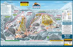 Utah Ski Resort Map by Mount Baker Ski Trail Map Free Download