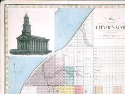Nauvoo Illinois Map by Sutcliffe Maudsley