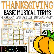 thanksgiving autumn theme flashcards wall cards bulletin board