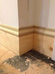 Modern Baseboard Molding Ideas Baseboard Cheating For The Home Pinterest Baseboard