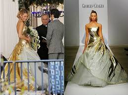 lively wedding dress gold wedding dresses georges chakra lively and gossip