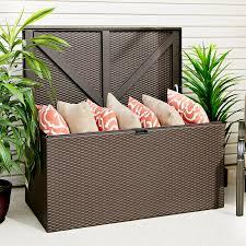 83 Gallon Deck Box designer series storage chest dsscbw deck storage