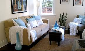 blue and brown living room decor luxury home design ideas