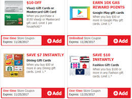 play gift card discount safeway vons fashion dining visa mastercard gift card deals