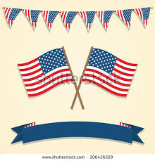 american flag bunting stock images royalty free images vectors
