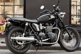 triumph bonnevilles t100 black triumph motorcycles pinterest