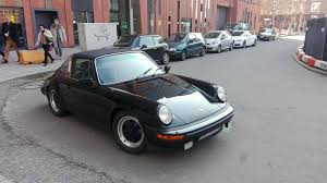 old porsche spotted this beautiful old porsche 911 targa in hamburg germany