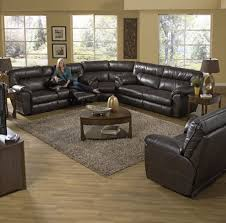 Sectional Sofa Sets Catnapper Nolan Reclining Sectional Sofa Set Godiva Cn Nolan
