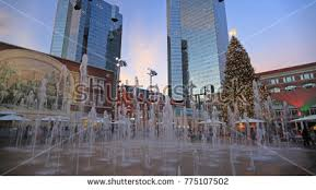 sundance square tree lighting 2017 sundance square stock images royalty free images vectors