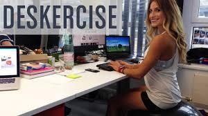 deskercise heel raises push ups tap squats bicep