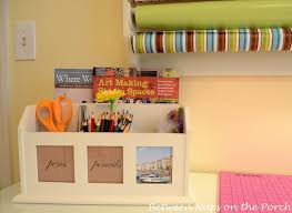 Craft Sewing Room - organization and storage for the home office craft sewing room