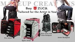 traveling makeup artist zuca pro makeup artist cases and bags
