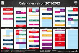 Calendrier Fdration Franaise De Calendrier Saison 2011 2012