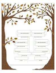free editable family tree template forms fillable u0026 printable