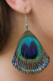 peacock earrings peacock feather earrings 13 nationtrendz