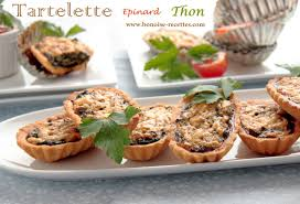 bonoise cuisine quiches pizza pies savory pies tartlet spinach tart