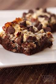 german chocolate cookie bars favorite family recipes