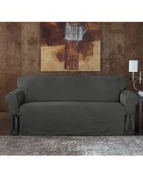 Surefit Sofa Slipcovers by Spectacular Deal On Sure Fit Designer Sueded Twill Sofa Slipcover