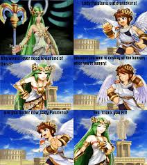 eat a snickers meme palutena by rabnadskubla on deviantart