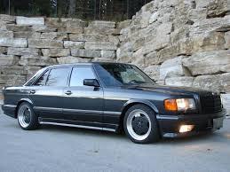 mercedes 560sel 1990 mercedes 560sel amg 1988 560sel lorinser german cars for