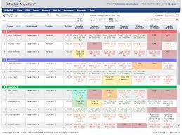 Excel Employee Schedule Template Employee Schedule Template Excel And Free Employee Schedule Maker