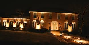 Landscape Up Lights Artistic Landscapes Uplighting The Front Of A Colonial