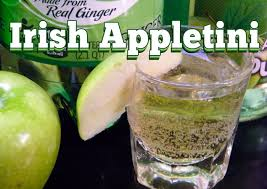 sour apple martini irish appletini drink recipe thefndc com youtube