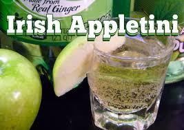 irish appletini drink recipe thefndc com youtube