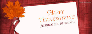 sending you blessings happy thanksgiving cover