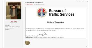 Billy Mercado Vs Bureau Of Traffic Services Civil Chamber Bureau Am Pm