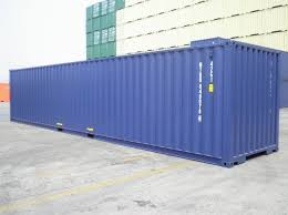 40 ft new build iso shipping containers 2016 ral 5013 dark blue