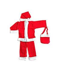 santa claus costume buy webelkart christmas santa claus dress for children online at