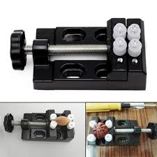 jaw bench clamp drill press vice opening parallel table vise diy
