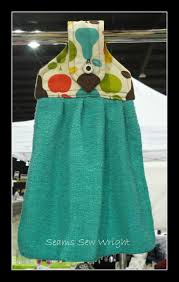 kitchen towel craft ideas teal dish towel by me with love seamssewwright pinterest