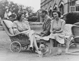 see queen elizabeth and princess margaret on their father king