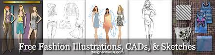 free fashion illustrations fashion sketches drawings u0026 cad