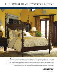 Thomasville Bedroom Furniture Prices by Thomasville The Ernest Hemingway Collection Bedroom By Cadieux