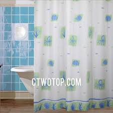 Animal Shower Curtains Octopus Shabby Chic Modern White And Green Animal Shower Curtains
