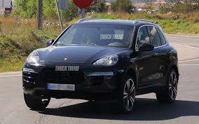 2015 luxury trucks 2015 porsche cayenne refresh spied truck trend news