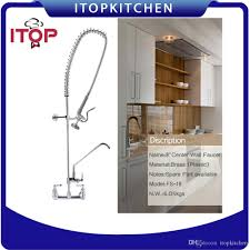 Water Faucets Kitchen 8 U0027 U0027 Center Wall Mounted Faucet Kitchen Tap Water Faucet Brass