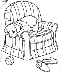 puppy color page free printable puppies coloring pages puppies