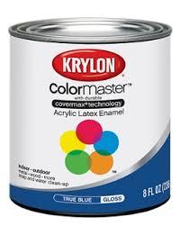 colormaster acrylic latex enamel half pint krylon