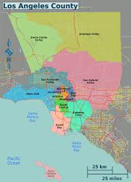 Map Of Los Angeles County by File La Districts Map Png Wikimedia Commons