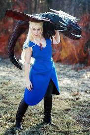 Daenerys Targaryen Costume Geek With Curves One Character Different Costumes Daenerys