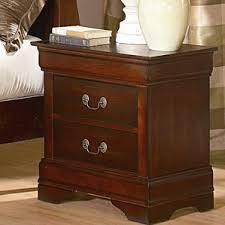 medium brown nightstand wayfair
