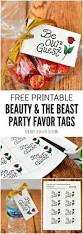 free printable thanksgiving gift tags beauty and the beast party favors free printable tags