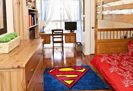 Superman Room Decor by Superman Superheros Rug In A Child U0027s Bedroom Nerdy Pinterest
