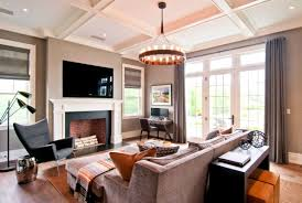 Family Room Window Treatments by Apartments Attractive Modern Family Room Decor Country Living