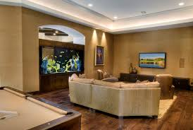 Aquarium For Home Decoration Furniture Charming Fish Tank Room Divider With Recessed Lighting